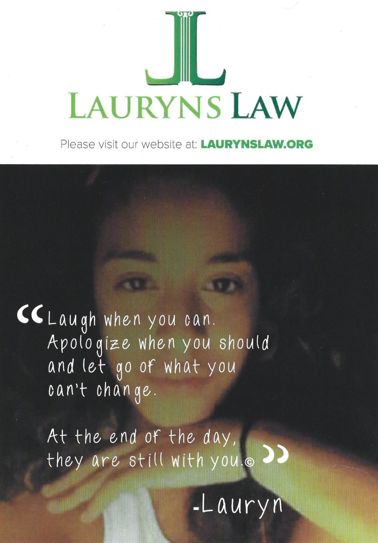 Lauryn's Law